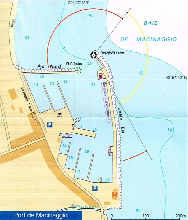 port de macinaggio