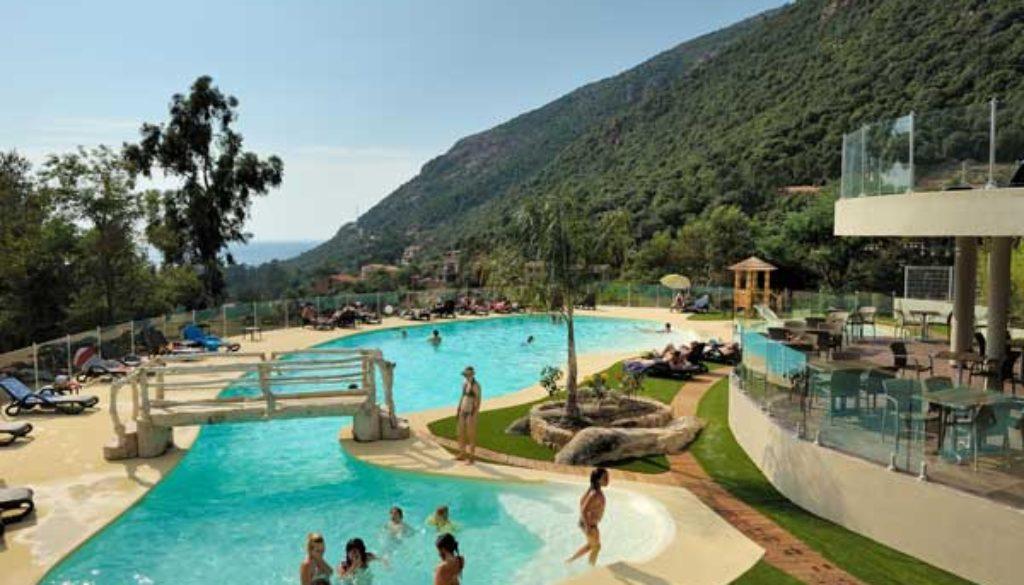 Camping ombrag avec piscine porto corse du sud for Piscine a porto portugal